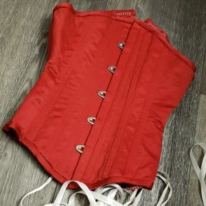 """20"""" Red Corset"""